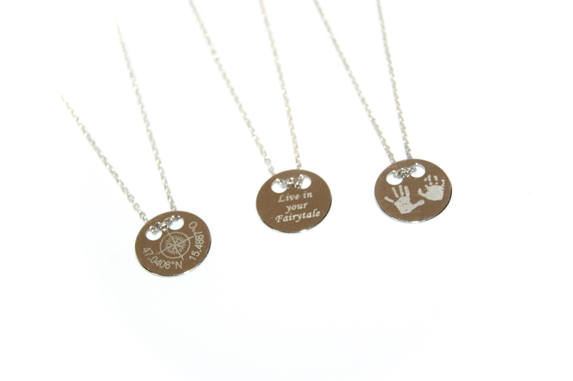 Necklace Engrave 15 mm